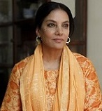 Shabana Azmi, photo courtesy of Shabana Azmi